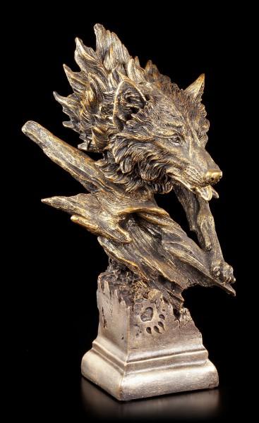 Vorschau: Wolfskopf Büste