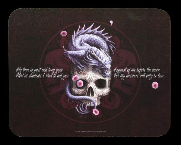 Ouija-Brett mit Totenkopf - Oriental Skull