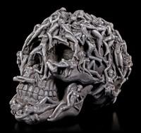 Totenkopf mit Frauenkörpern - Hell's Desire