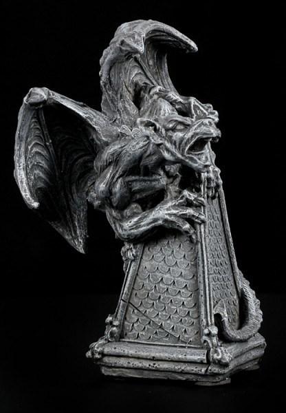 Gargoyle Figur als Flaschenaufsatz