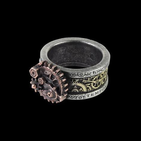 Alchemy Steampunk Ring - Quanta Mechanica