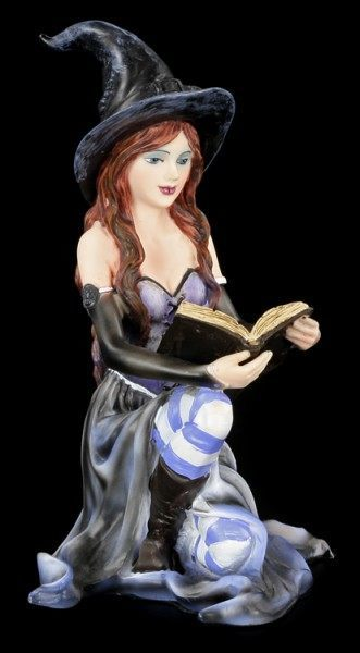 Witch Figurine - Artemisia with Spell Book