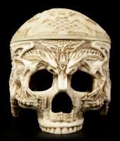 Box - Tibetan Human Skull