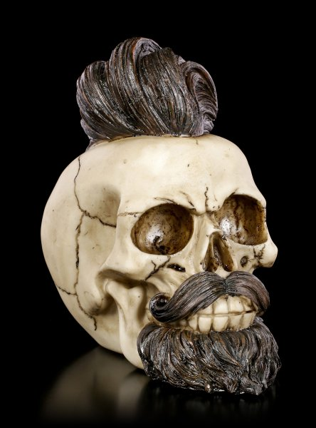 Skull - Bearded Buddy