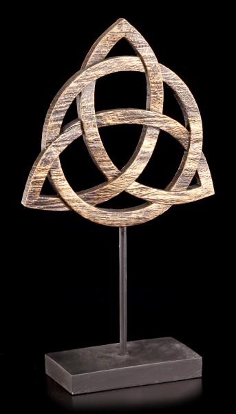 Altar Deko Keltischer Knoten - Triquetra