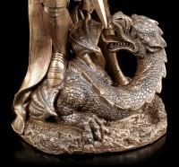 St. George Figurine kills Dragon