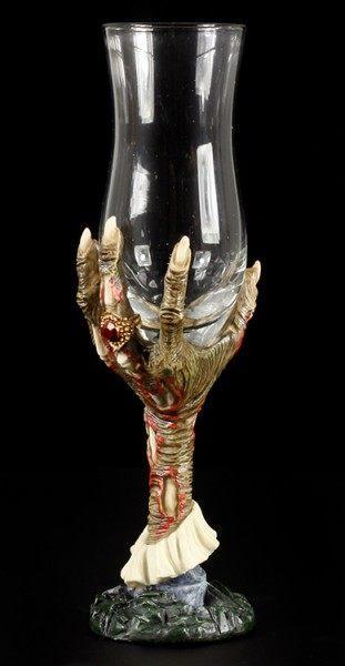 Schnapsglas - Zombie Hand