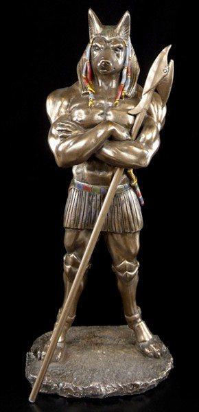 Anubis Figure as Warrior bronze