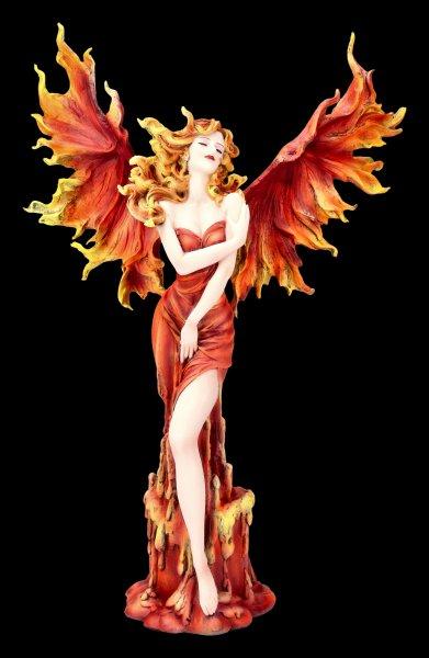 Elfen Figur - Ignis mit Feuerflügeln