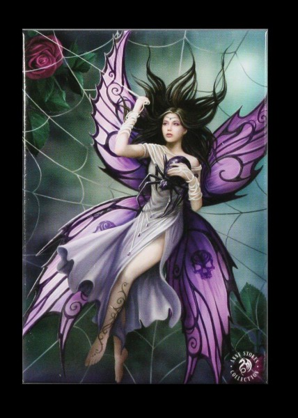 Magnet mit Elfe - Silk Lure by Anne Stokes