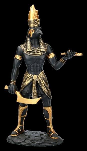 Egyptian Warrior Figurine - Horus - Black Gold