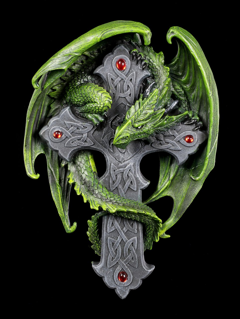 Woodland Guardian Dragon Plaque - Anne Stokes
