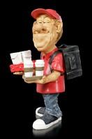 Funny Job Figurine - Food Delivery Boy
