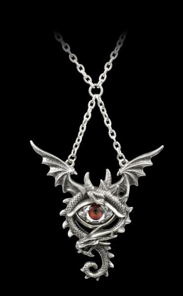 Alchemy Drachen Halskette - Eye of the Dragon