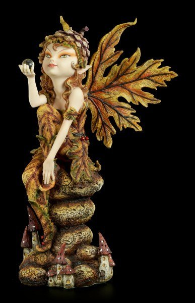 Pixie Fairy Figurine - The Autumn is here