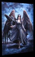 Große Leinwand mit Engel - Raven