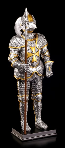 Ritter Figur - Malteser mit Hellebarde