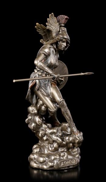 Athena Figur - Griechische Göttin mit Eule