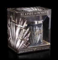 Schnapsbecher mit Schwertern - Blades of Power