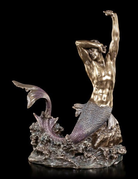 Wasserman Figur - Tryton streckt sich am Morgen