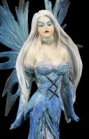 Elf Figurine - Glacia in blue Dress