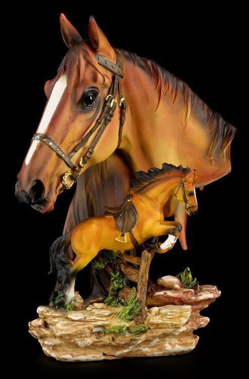 Large Horse Bust
