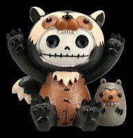 Large Furrybones Figurine - Wolverine Hugh