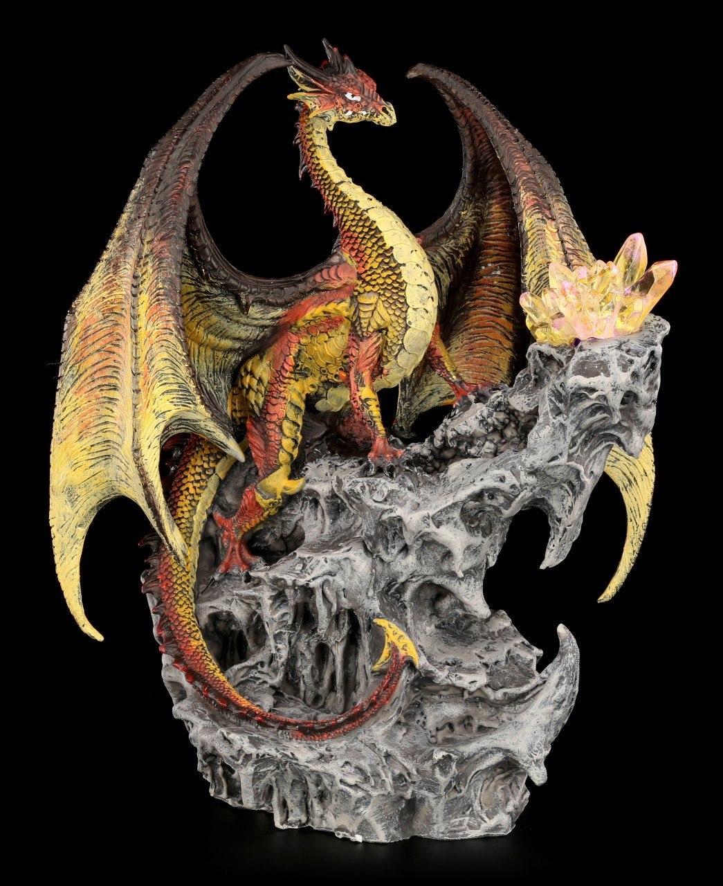 Drachen Figur mit LED - Hyperion