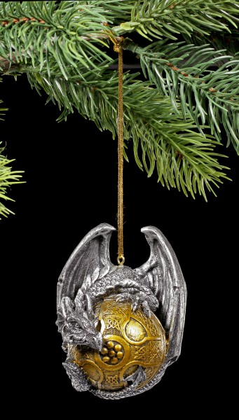 Christmas Tree Ball - Dragon gothic