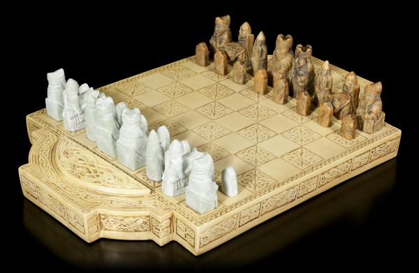 Viking Chess Set - Isle of Lewis