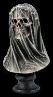 Totenkopf Büste verschleiert - Dark Veil