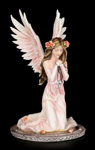 Engel Figur - Wächterin der Rosen