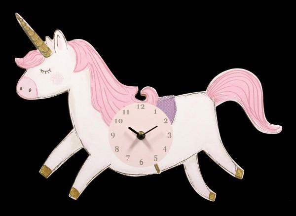 Unicorn Shape Wall Clock