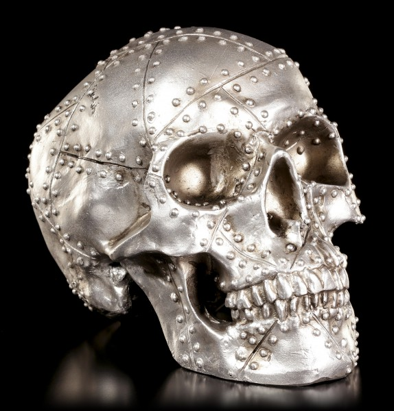 Metal Design Skull - Rivet Head