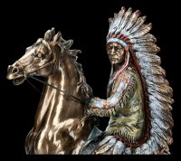 Indian Figurine - Buffalo Hunter Sitting Bull
