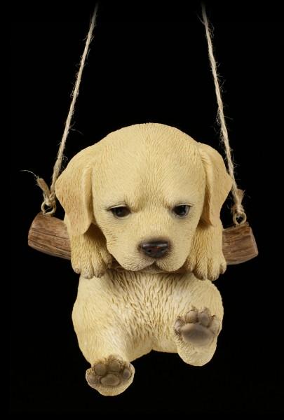 Hanging Dog Figurine - Labrador Puppy