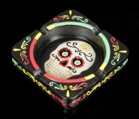 Totenkopf Aschenbecher - Day of the Dead