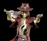 Skeleton Figurine - Gunslinger by James Ryman