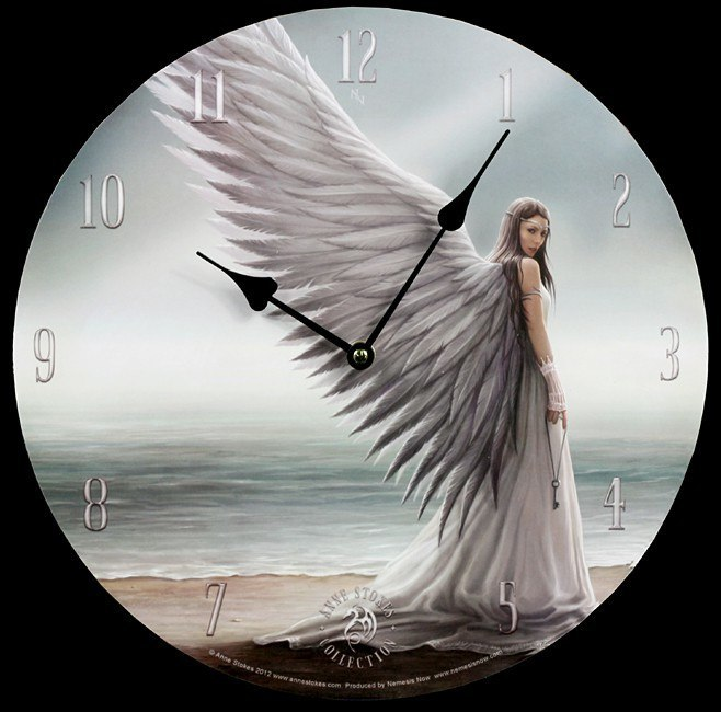 Spirit Guide Clock - Anne Stokes