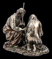Krippen Figur - Jesus Geburt mit Maria und Josef