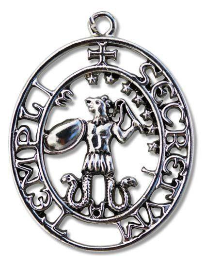 Knights Templar Pendant - Sigil of Abraxas