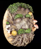 Forest Spirit Wall Plaque - Guardian of the Forest