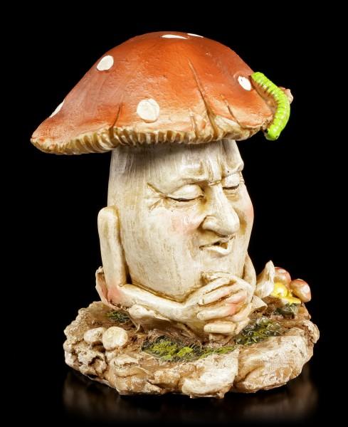 Mushroom People Figurine - Tony