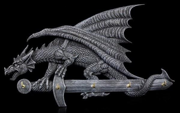 Dragon on Sword Key Hanger