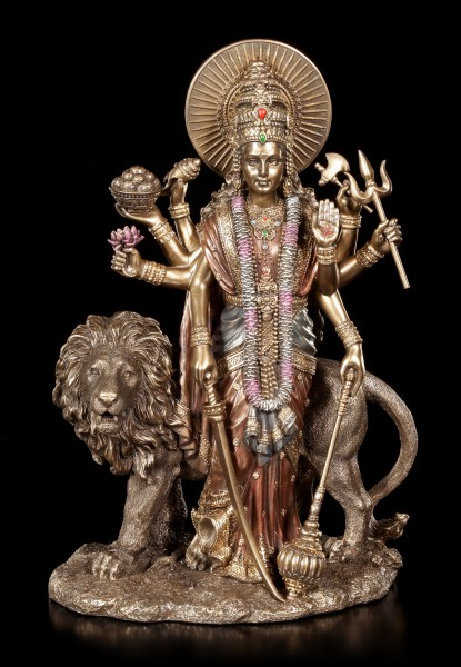 Durga Figur - Göttin der Vollkommenheit
