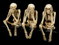 Skeleton Shelf Sitter - Set of 3