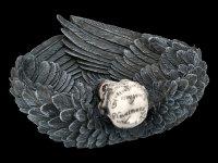 Bowl - Edgar's Raven Skull
