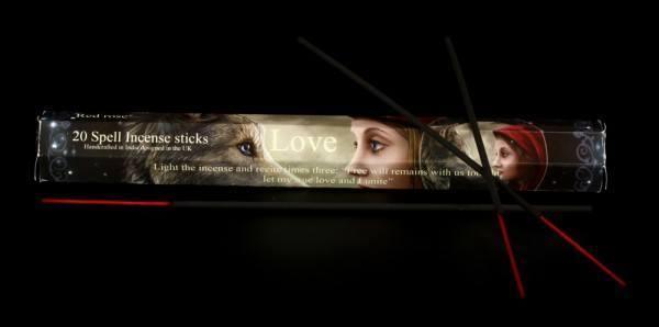 Räucherstäbchen - Zauberspruch Love - Liebe