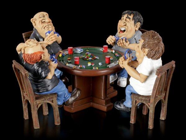 Funny Sports Figuren - Pokerrunde