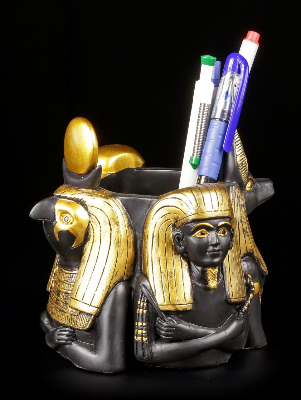 Penholder - Egyptian Deities